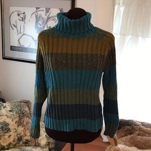 St. John's Bay Cropped Turtleneck Sweater
